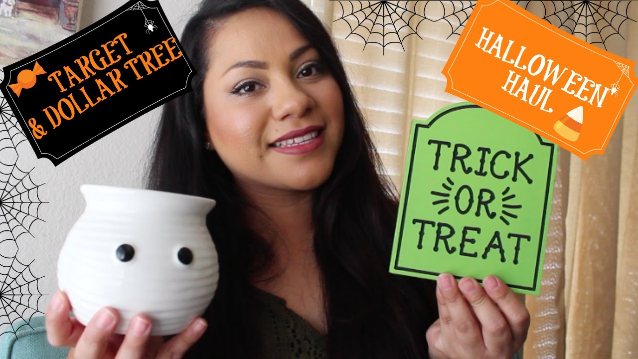 target dollar spotdollar tree halloween haul sept 2016 youtube - Target Halloween Tree