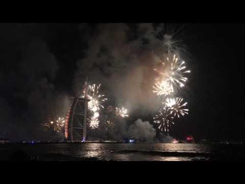 Burj Al Arab 31/12/2016 New Year Celebration