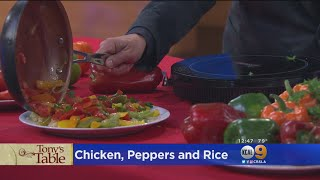 Tony's Table: Chicken, Rice And Peppers