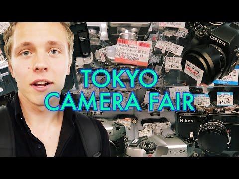 Shopping at Tokyo Camera Fair