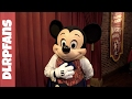 Mickey Mouse at the Magic Kingdom Walt Disney World 2017
