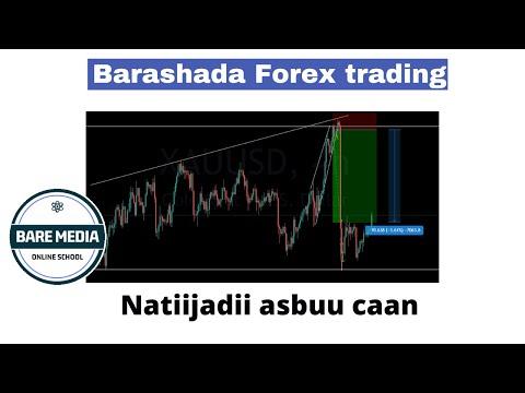 Barashada forex Trading  natiijadii asbuucii hore iyo faah faahin guud