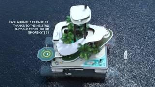 Luxury Portable Island