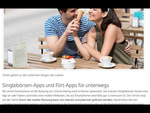 mobile dating und flirt app