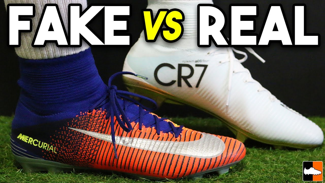 157b1342e9d Are These The Best FAKE CR7 Boots Ever?! 98% Can't Tell!