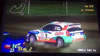 Gran Turismo 3 A-Spec Corolla Rally Car VS Impreza Rally Car Prototype 🏁