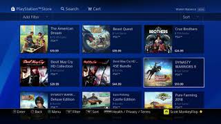 """NEW PS4 GAMES RELEASED """"ANY GOOD GAMES"""" The American DREAM"""