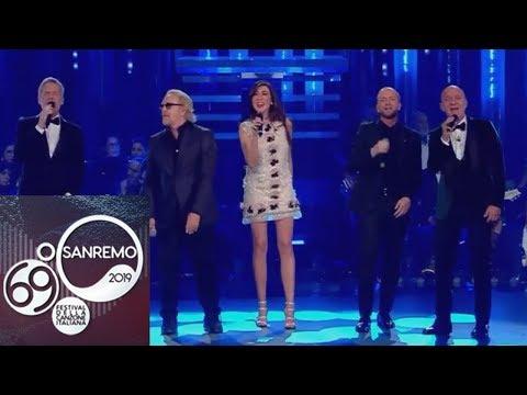 """Sanremo 2019 - Umberto Tozzi, Raf e la loro """"Gente di mare"""""""