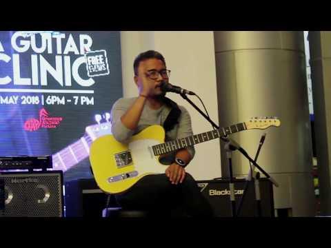 Latihan Dasar Picking Gitar Paling Efektif dari Andre Dinuth. SMEX 2018 Surabaya