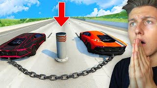 MEGA LAMBORGHINI UNFALL! (Crash-Test Simulator)
