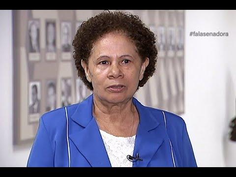 #falasenador: Regina aborda importância do Sistema Único de Segurança Pública