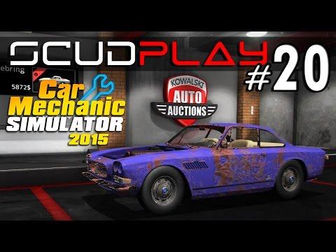 ScudPlay | Car Mechanic Simulator 2015 #20 | Vegyünk roncsot, Maserati Sebring. [HUN] HD