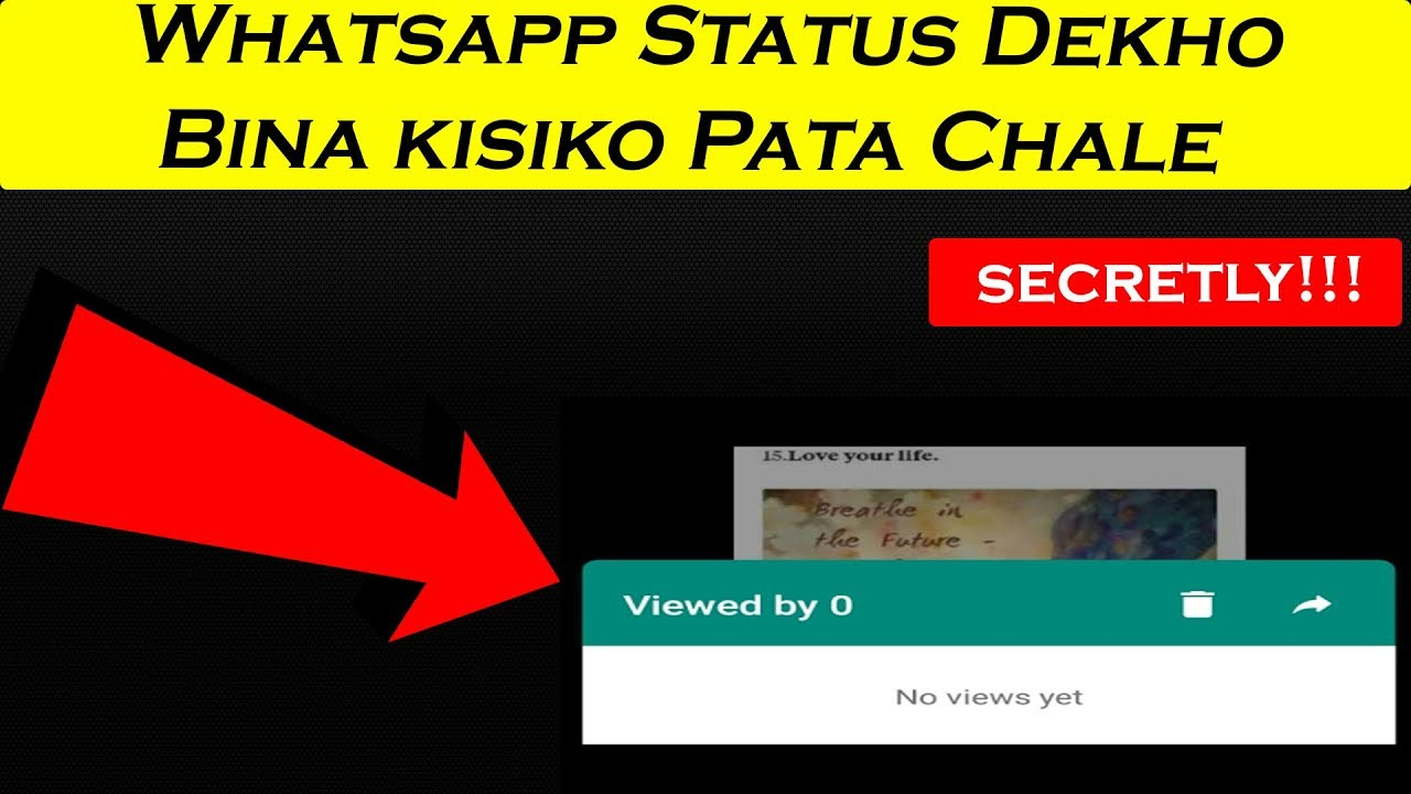 How To See Others Whatsapp Status Without Letting Them Know