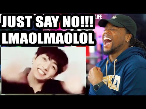 BTS + Drugs = This Video   I Dare You NOT To Laugh   REACTION!!!