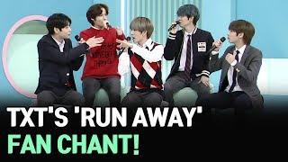 [AFTER SCHOOL CLUB] TXT's 'Run Away' fan chant (투모로우바이투게더의 9와 4분의 3 승강장에서 너를 기다려 응원법)