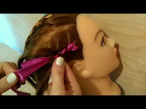 5 способов закрепить ленту в косе. 5 Ways To Secure Ribbon In Braid.