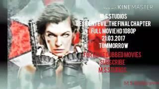 Resident evil promo 21.03.2017