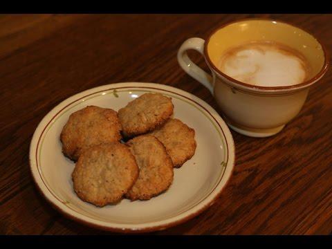 Печенье из овсяной муки - кулинарный рецепт