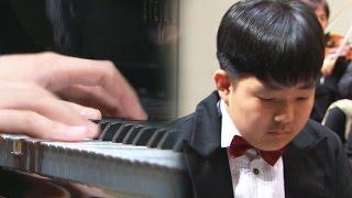 16세 자폐 피아니스트 '제 2의 베토벤' @순간포착 세상에 이런일이 935회 20170504