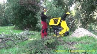 Test Haecksler 4 .Wie man die professionnele Gartenarbeit einfacher macht.