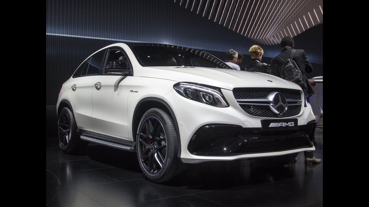 Mercedes GLE 63 AMG Coupe - Highlights NAIAS Detroit 2015
