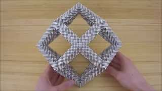 Rhombic Dodecahedron Frame (Zen Magnets)
