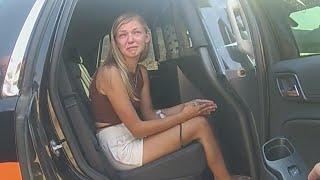 Gabby Petito Cries After Scratching Boyfriend: Police Bodycam