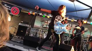 The Pretender performed by The Fooz Fighters at the Santa Fe Springs Swap Meet Friday June 15 2018