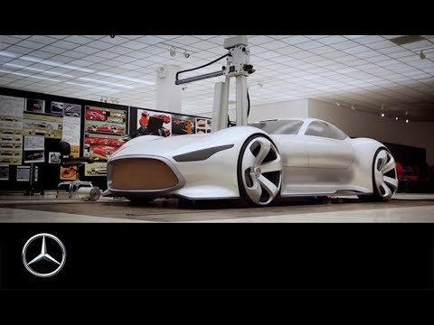 mercedes-benz amg vision gt – making of - youtube