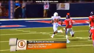 Texas Longhorns Top Plays of 2012 Season