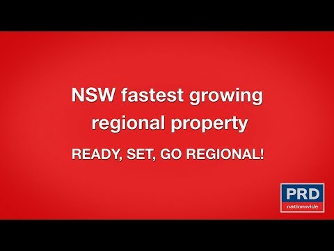 Affordable Regional Areas in NSW - PRD Ready, Set, Go Regional!