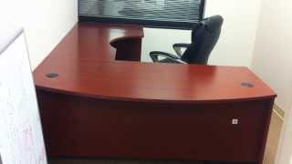 Executive Desk Installation Service Video In Dc Md Va By Office Furniture Installation Experts