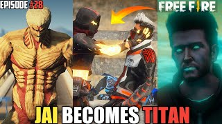 GTA X FREEFIRE : JAI BECOMES TITAN FT. @GAURAV MARWAHA- VOICE ARTIST OF SHINCHAN'S DAD 🔥