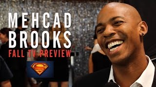 Supergirl Star Mehcad Brooks Interview TheWrap Magazine Fall TV Issue Cover Star