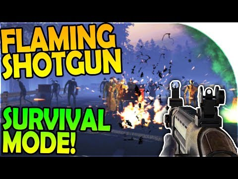 FLAMING SHOTGUN RAIN, CHAPTER 1 FINALE, SURVIVAL MODE - Into the Dead 2 Gameplay ( Android / iOS )