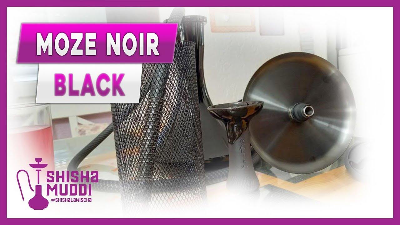 Moze Noir Black / Schwarze Elegante Schönheit.