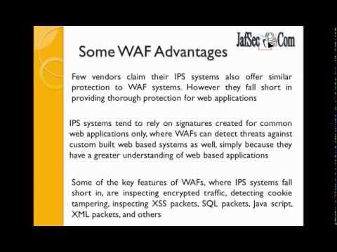 Intrusion Prevention Systems Vs Web Application Firewalls