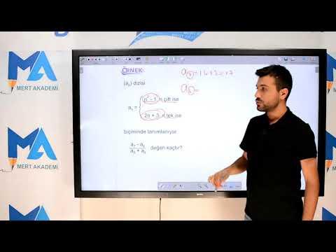Eğitim10line Ayt Matematik - Diziler Konu Anlatımı (Volkan Kaya)