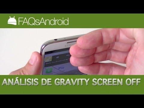 Análisis de Gravity Screen Off para Android | FAQsAndroid.com