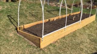Raised Garden Bed + How To Make An Easy-access Cover