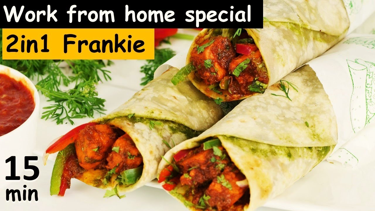 न प्याज़ टमाटर काटना न घंटो पकाना 15Min बजार जैसी तवा फ्रैंकी अबतक का सबसे आसान तरीका Frankie Recipe