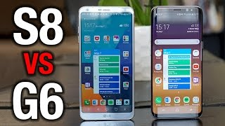 Samsung Galaxy S8 vs LG G6: Modern flagship comparison!