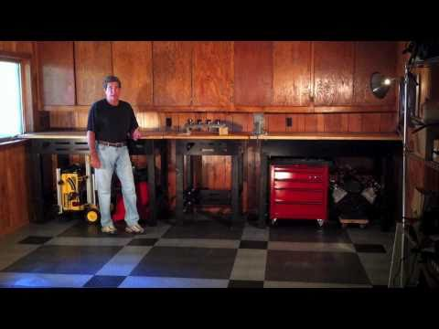 build a custom workbench plans