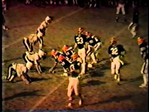 Van Buren vs West Burlington Football 1984 Part 5 of 5