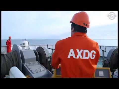 Azerbaijan Caspian Shipping Company-Kuryk port operation