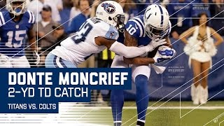 Colts Trick Play Sets Up Donte Moncrief's TD Catch!   🚨Trick Play Alert🚨  Titans vs. Colts   NFL