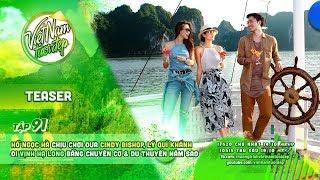 Hồ Ngọc Hà chịu chơi đưa Cindy Bishop, Lý Quí Khánh đi Vịnh Hạ Long bằng chuyên cơ & du thuyền 5 sao
