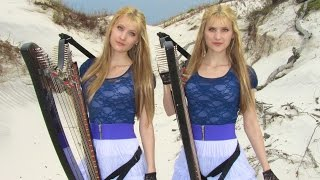 EVERY BREATH YOU TAKE - The Police (Harp Twins electric) Camille and Kennerly