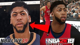 Proof NBA LIVE 19 can be BETTER than NBA 2K19!