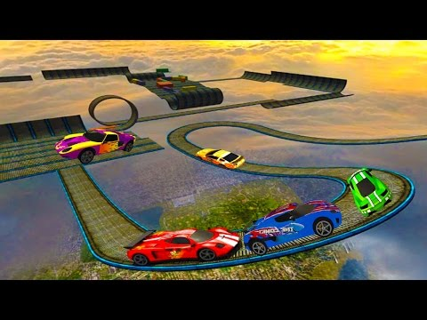 Impossible Stunt Car Tracks 3D Game Complete All Vehicles Unlocked & All Levels - Android GamePlay